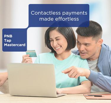 DingDong Dantes and Marian Rivera shopping online using PNB TAP Mastercard.
