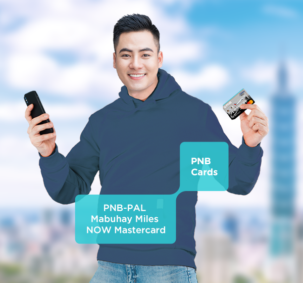 Fulfill your travel and shopping goals right here, right now with your PNB-PAL Mabuhay Miles NOW Mastercard!