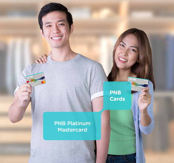 Venture into new horizons on the latest fashions and the finest restaurants with your PNB Platinum Mastercard!
