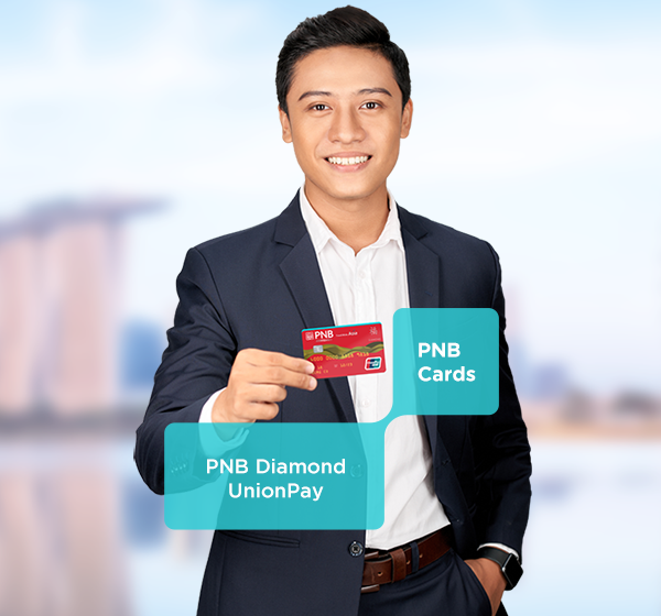 Travel into the stunning tapestry and enduring traditions of Asia and the world with your PNB Diamond UnionPay!