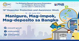 PDIC Depositor Protection and Awareness Week (DPAW)